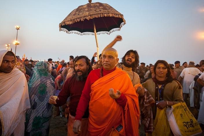 Varanasi and Kumbh mela India