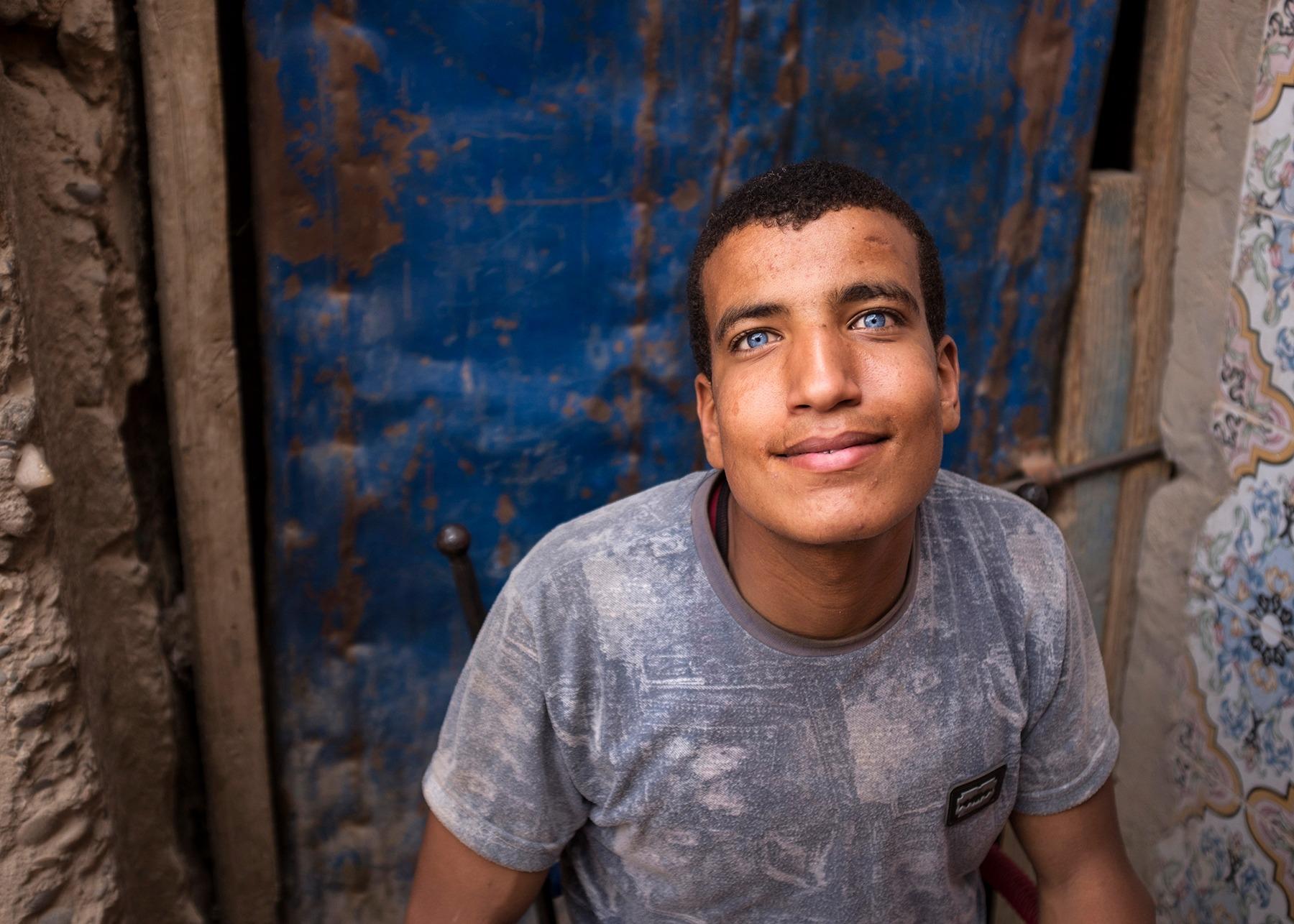Street portraits, Morocco