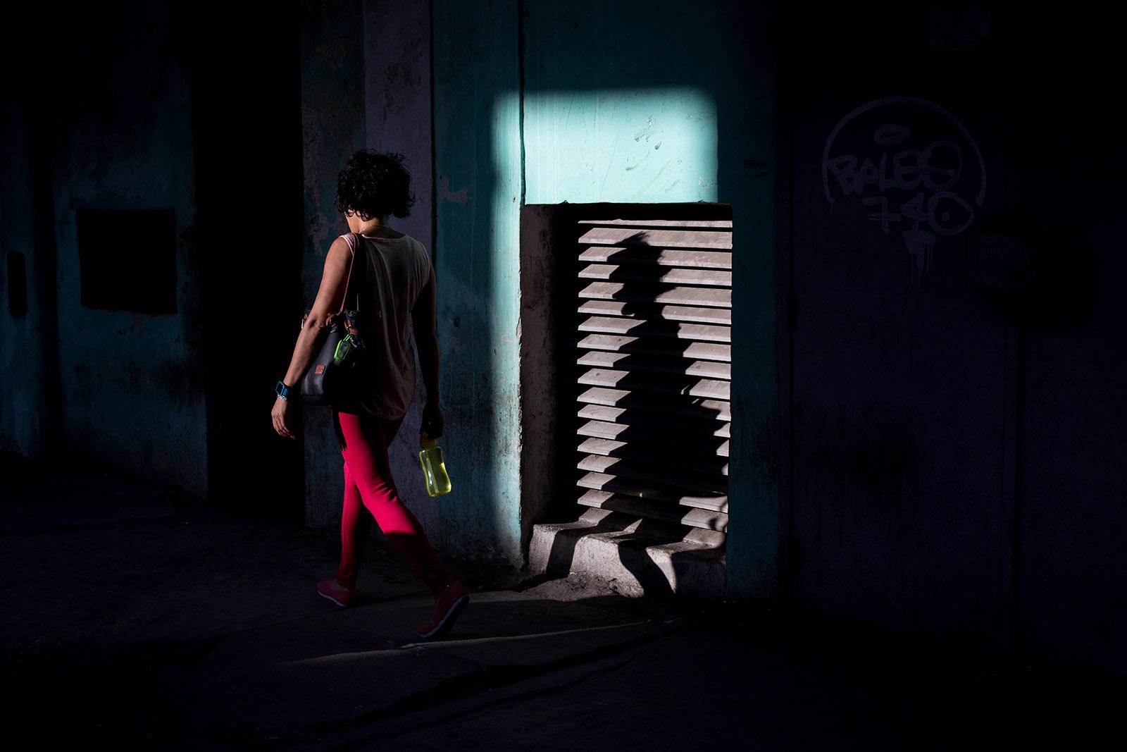 shadows in Havana, Cuba