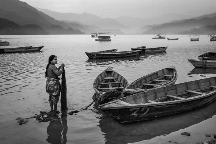 lakeside pokhara, nepal