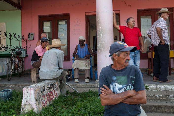 Street Scene in Vinales Cuba