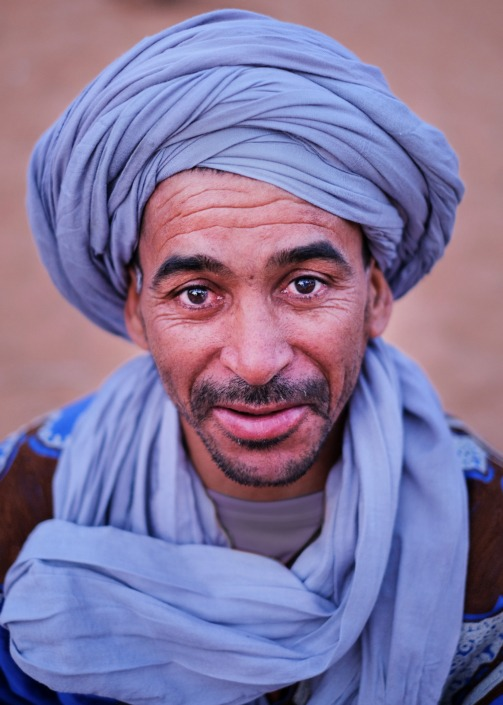 Portrait of a Berber, Morocco